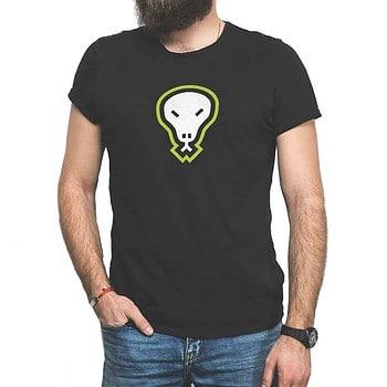 Flatgekko™ Skull Black Short-Sleeve T-Shirt