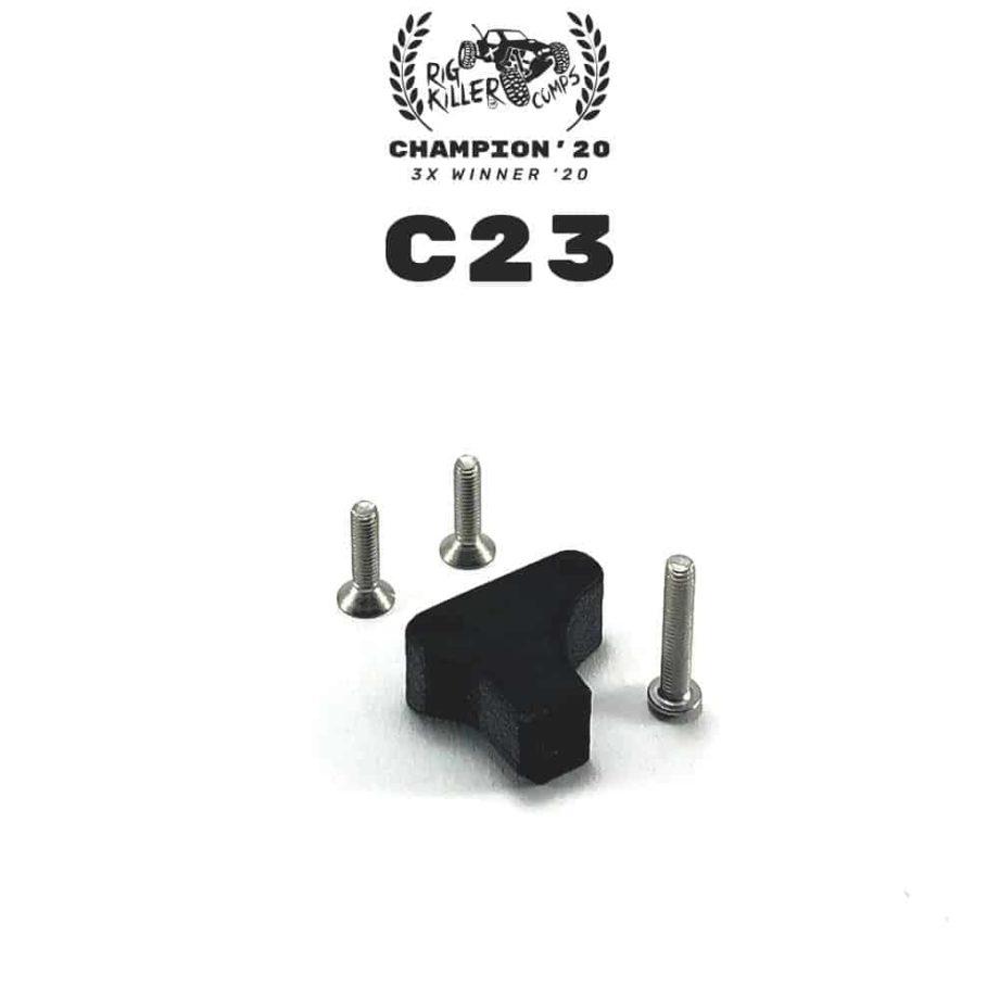 PROCRAWLER® Flatgekko™ C23 V1 Panhard Mount