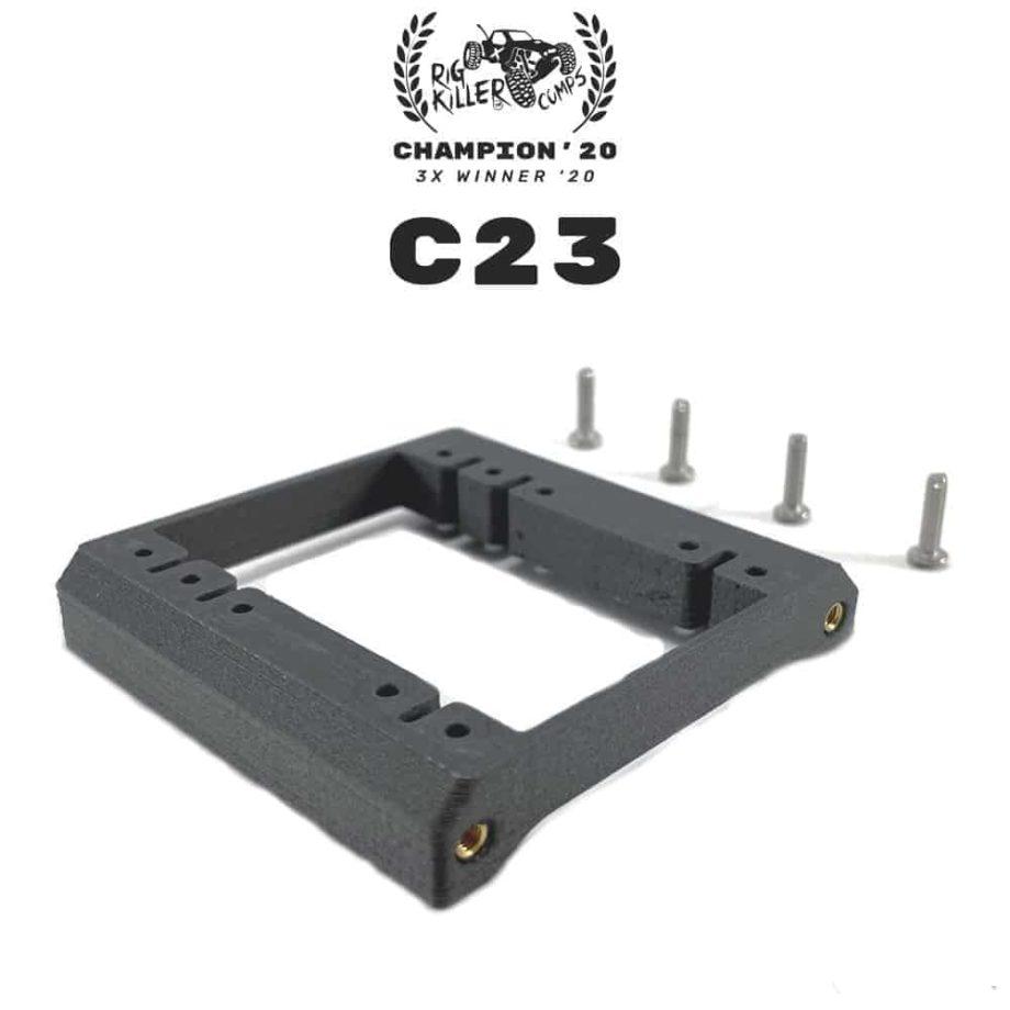 PROCRAWLER® Flatgekko™ C23 V1 Dual CMS Servo Mount