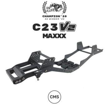 PROCRAWLER® Flatgekko™ C23 V2 Maxxx™ LCG CMS Chassis Kit
