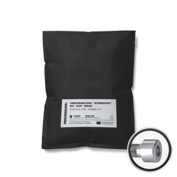 PROCRAWLER® SCRWD500™ M2 Cap Head Stainless Steel Hardware Kit