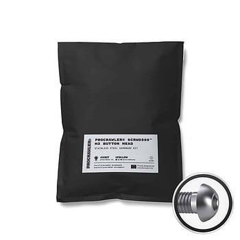 PROCRAWLER® SCRWD500™ M3 Button Head Stainless Steel Hardware Kit
