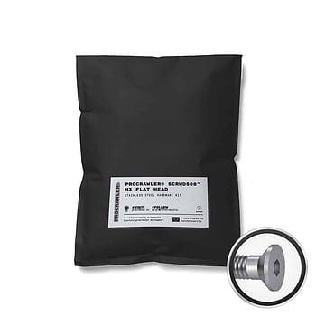 PROCRAWLER® SCRWD500™ M3 Flat Head Stainless Steel Hardware Kit