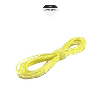 PROCRAWLER® Flatgekko™ 195daN/199kg Dyneema® SK78 Yellow Gekkogut™ Scale Winch Line