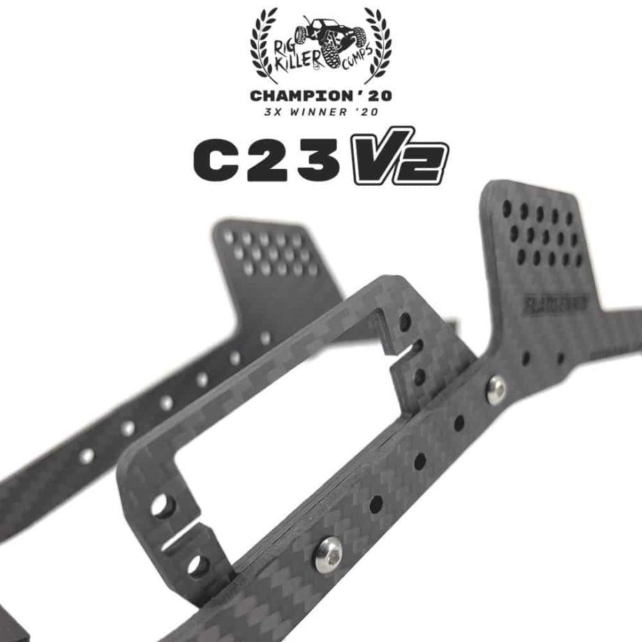 PROCRAWLER® Flatgekko™ C23 V1/V2 Side Servo Winch Mount
