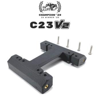 PROCRAWLER® Flatgekko™ C23 V2 Dual CMS Servo Mount
