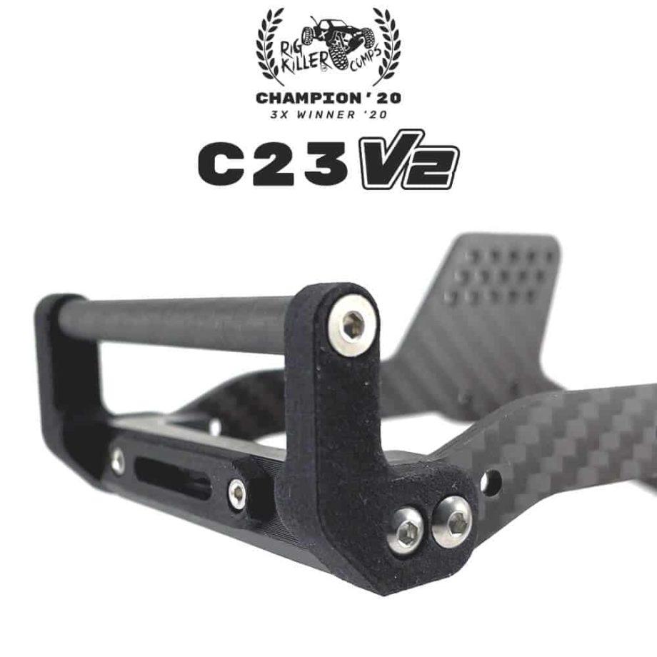 PROCRAWLER® Flatgekko™ C23 V2 Bullbone™ Front Bumper